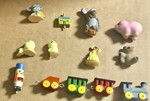 Lot-of-Dollhouse-Miniature-Assorted-Accessories-Room-Items-Decor-Vintage