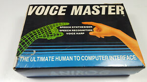 ANIROG-VOICE-MASTER-Commodore-64-C64-Boxed-Working-CIB-VGC-Collectible-Sammler