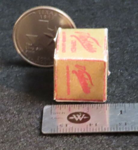 Dollhouse Miniatures Victoria Beer Cerveza Paper Case Box 1:12 Scale Mexican