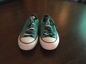 d02b49a7d1dc Converse All Star Teal Blue Aqua Women s size 7 Men s size 5 ...