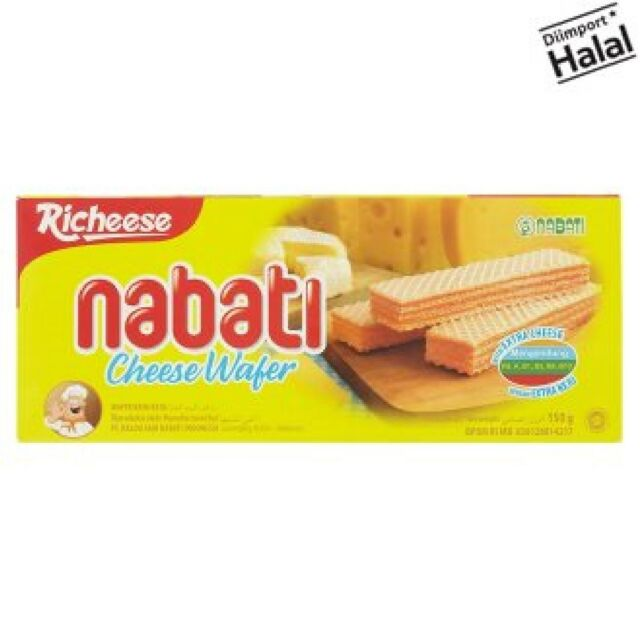 Richeese Nabati Cheese Wafer 150g X 2 Packs