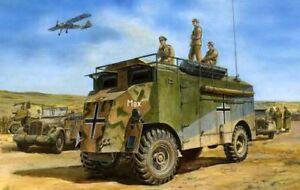 Afv 1/35 Véhicule de commandement blindé n ° 35235 du Mammoth Dak Aec de Rommel