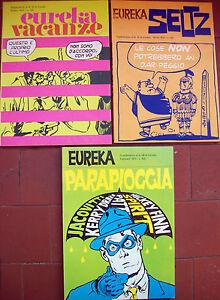 1970 Beaucoup De 3 SupplÉments À 'eureka' Juge De Jacovitti Morris Mister Mum
