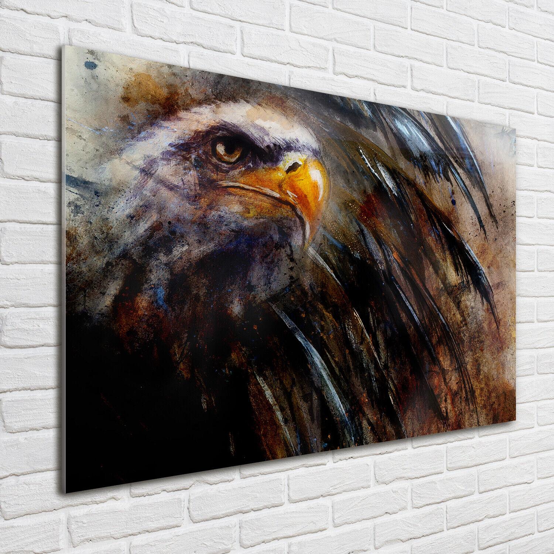 Acrylglas-Bild Wandbilder Druck 100x70 Deko Kunst Adler