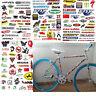 3 Sheet Car Bicycle Cycling Sticker MTB Bike Skateboard Decal Stickers DIY New