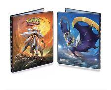 Ultra Pro Pokemon Solgaleo Lunala Album 9 Pocket Portfolio Sun & Moon Binder and