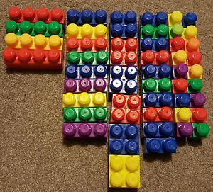 DéVoué Mega Bloks Blocs De Construction Construction Toy Assorted Bundle - 89 Pièces-afficher Le Titre D'origine