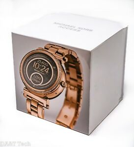 Michael Kors Access Sofie Smartwatch 42mm Stainless Steel Rose Gold