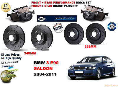 FRONT AND REAR PADS FOR BMW 335D 11//2006