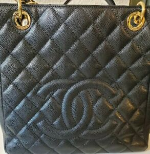 Authentic-Chanel-Petit-Timeless-Black-Purse