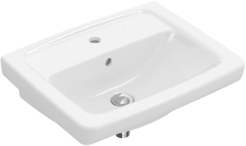 Waschbecken  Handwaschbecken Waschtisch Clivia Style 55 x 44 cm weiß *
