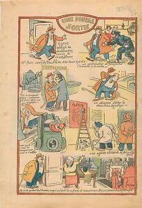 Caricature-Declaration-au-Fisc-Citoyen-Electeur-Bourgeois-Auto-1932-ILLUSTRATION