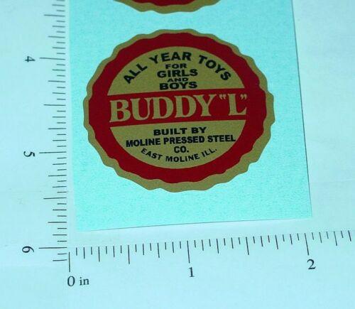 Buddy L Round Style Floor Plate Sticker          BL-190