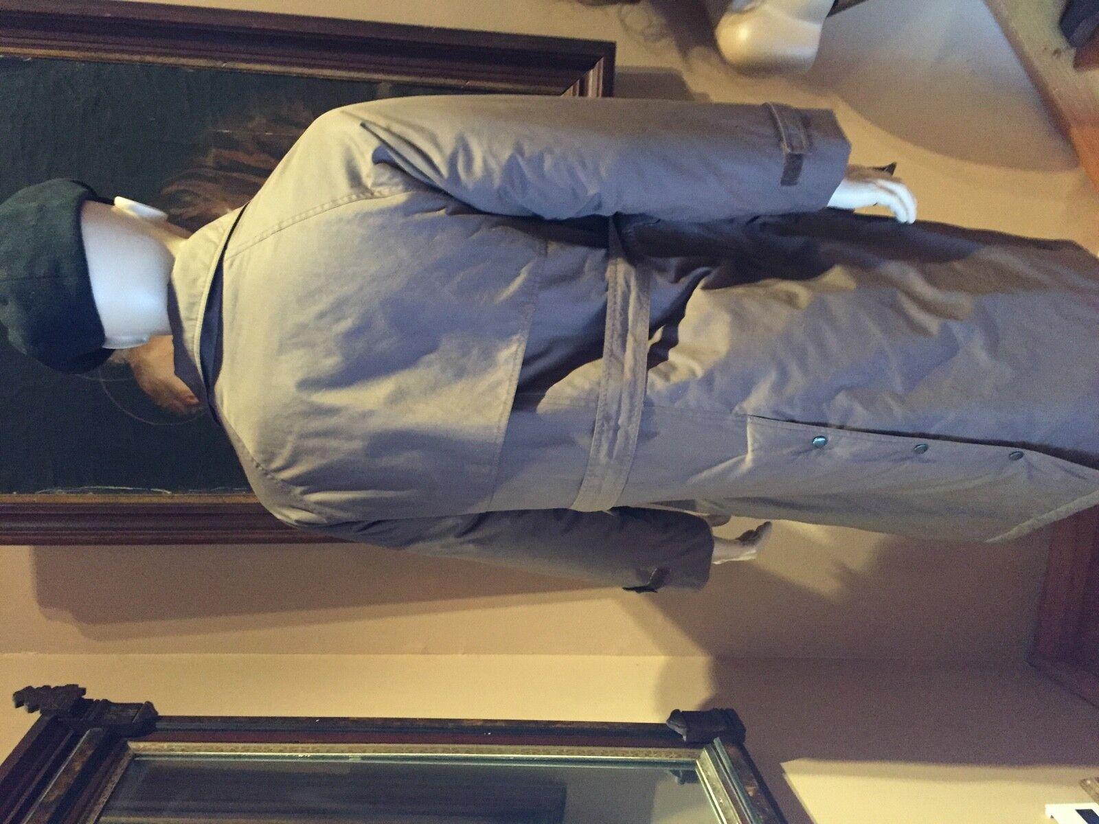 Perry Ellis Uomo XXL Pinstripe grigio Suit Vest XXL Uomo a4d31a
