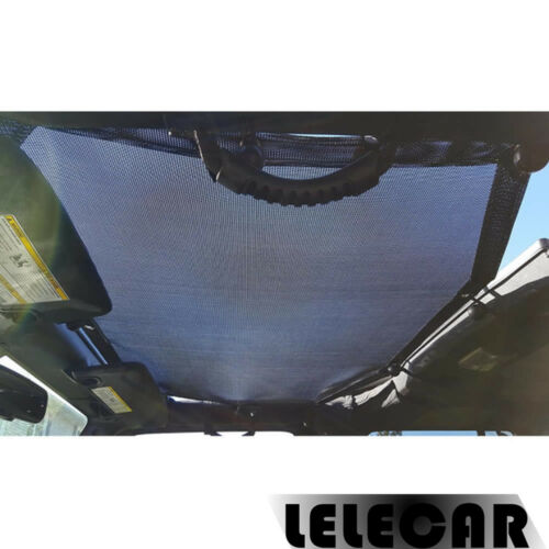 Fits 07-16 for Jeep Wrangler JK 2 Door Mesh Top Sun Shade Cover UV Protection