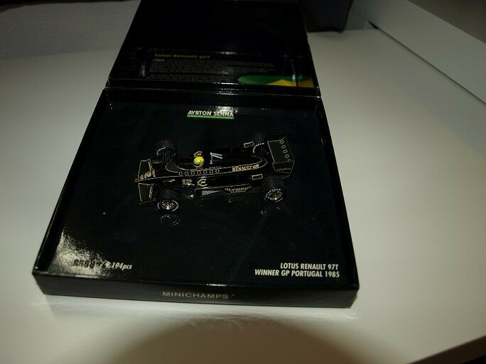 Ayrton Senna Lotus Renault 97T 1e win  1:43   in special box