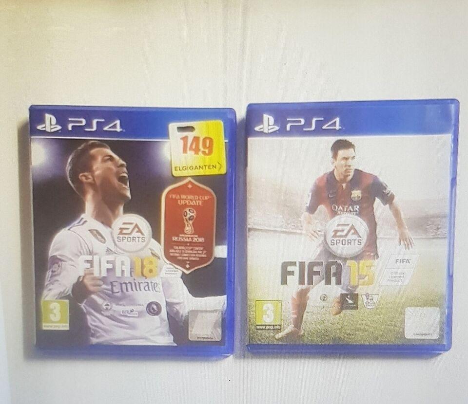 Fifa spil, PS4, sport