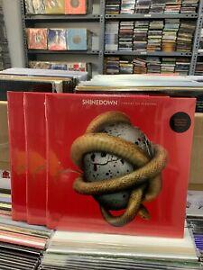 Shinedown LP Threat To Survival Translucent Red Vinyl Versiegelt