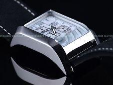 RARE NEW Invicta Men's Time Square Quartz Chrono Beveled SS Case MOP Dial Watch