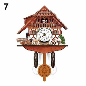 Funny-Cute-Antique-Wooden-Cuckoo-Wall-Hanging-Clock-Swing-Alarm-Watch-Home-Decor