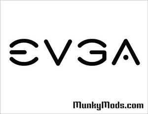 EVGA-Logo-Computer-PC-Case-Window-Applique-Vinyl-Decal-Color-Choices