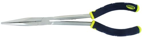 """New Calcutta Ultra Grip 11/"""" Long Reach Pliers CR Matte Finish C11CRLRP"""