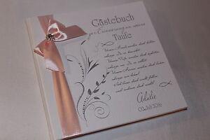 Hardcover-Gaestebuch-zur-Taufe-Taufgeschenk-Taufbuch-weiss-mit-hell-rosa-babyrosa