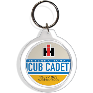 Cub Cadet International Garden Tractor 124 125 12 IH Key Ring FOB chain Keychain