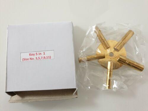 Grossuhren Tisch 11-9-7-5-3 Sternschlüssel und Wanduhren Uhren Schlüssel