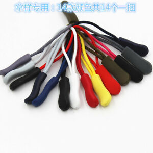 10pcs Zipper Pull Cord Zip Puller Zip Fastener Zip Slider Replacement Jacket Bag