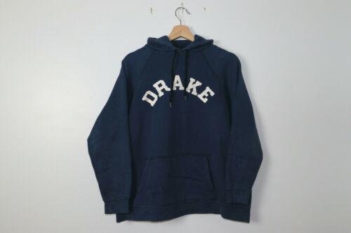 Drake University Vintage Hoodie Large L 1960s 60s