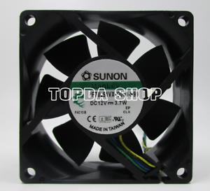 SUNON PF70251VX-Q000-S99 fan DC12V 3.7W 70*70*25mm 4pin PWM
