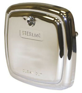 Sterling Tub Overflow Plate Chrome Ebay
