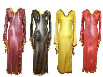 Egyptian Belly Dance Costume Saidi Dress Halloween Baladi Galabeya gypsy