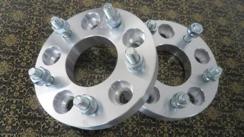 "2 WHEEL ADAPTERS WHEEL SPACERS 5X114.3 TO 5X120.65 2/"" THICK 78.1MM CB12X1.5 STUD"