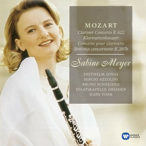 Mozart / Sabine Meye - Clarinet Concerto in a [New CD]