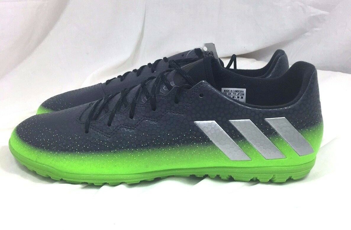 Adidas Messi 16.3 TF Turf Soccer Shoes Cleats Football Shoes Soccer Gray AQ3524 Size 13 22d8b4