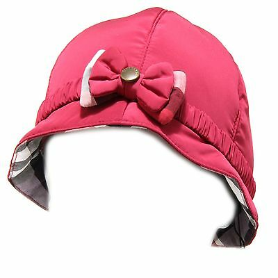 4327f Cappello Burberry Accessori Bimba Hat Kids Viola L'Ultima Moda