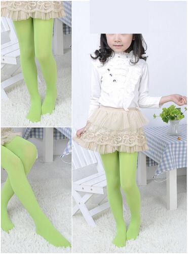 Cute Girls Colorful Tights Pantyhose Stockings Velvet Ballet Kids Socks RBN GIft