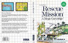 RESCUE MISSION                -----   pour SEGA MASTER SYSTEM / BE-PN
