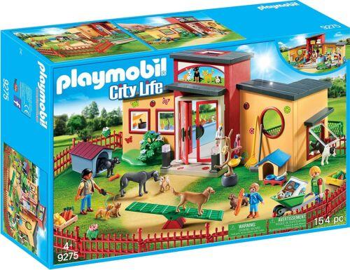 PLAYMOBIL Tiny Paws Pet Hotel Free Shipping