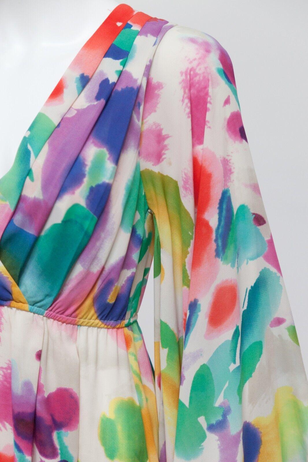 H&M The Garden Collection Floral Kimono Kimono Kimono Dress RARE HTF Size 2 Unworn With Tags ede5ad