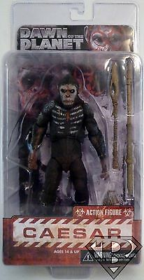 "CAESAR Dawn of the Planet of the Apes 7"" inch Scale Figure Series 1 Neca 2014"