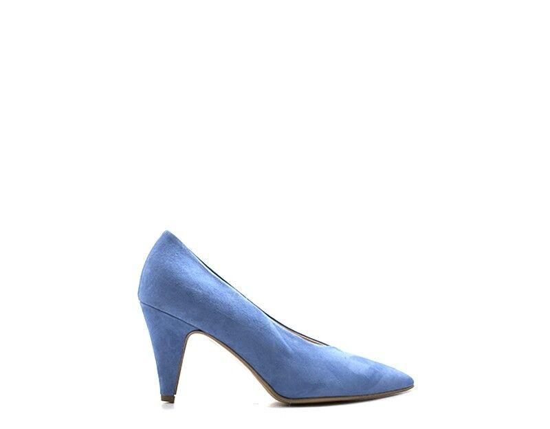 shoes ROBERTA GINEPRI women DECOLLETE  AZZURRO Scamosciato 4900CAM-MI