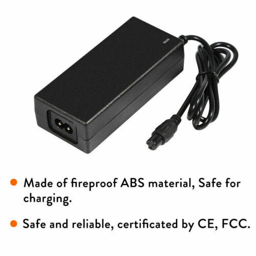 Lithium Battery Charger 29.4V 1A 42V 2A Adapter for Self Balancing Scooter Wheel