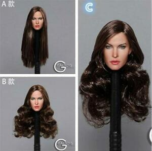 GACTOYS-GC029-1-6-Beauty-European-Girl-Megan-Fox-Head-Carving-Fit-12-039-039-Figure