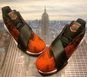 edfb672677a7f1 Nike Jordan CP3.XI 11 Chris Paul Rocket Fuel Red Black Size 11.5 ...