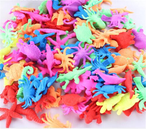 10X//set Foam Water Toy Swimming Pool Toy Water-absorbing Expanding Animal Toy MW