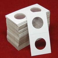 100 Cardboard 2x2 Coin Holder Mylar Flips For Small Dollars