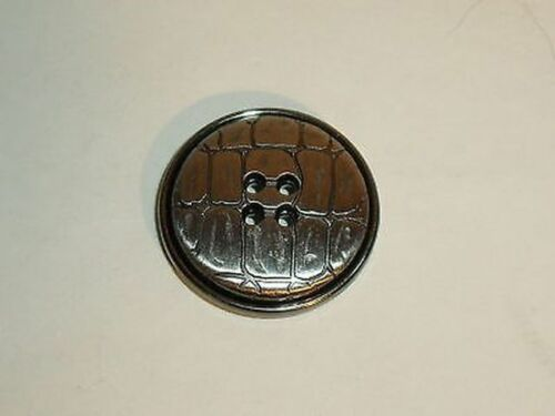 8 botones de metal abrigo-botones 23mm plata 270b